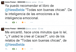 Néstor Belda │ Lectores de Todas son buenas chicas